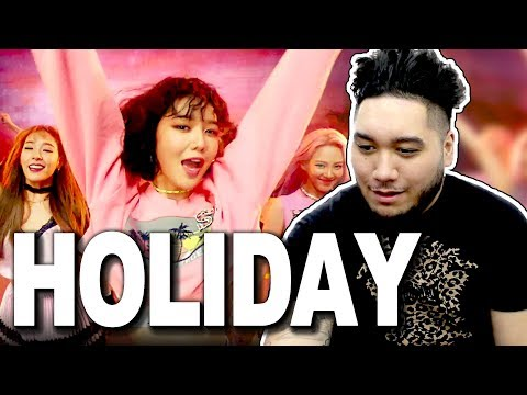Girls' Generation (소녀시대) - Holiday [Music Video] REACTION!!!