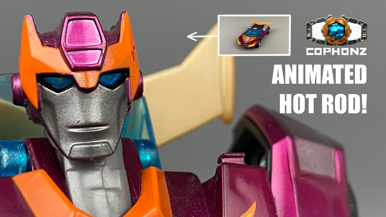 Animated Rodimus Aka Hot Rod Bitesize Review No Words By cophonz
