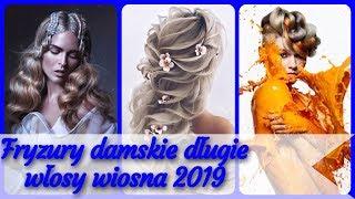 20 pomysłów 💝 na nowoczesne fryzury damskie długie włosy wiosna 2019