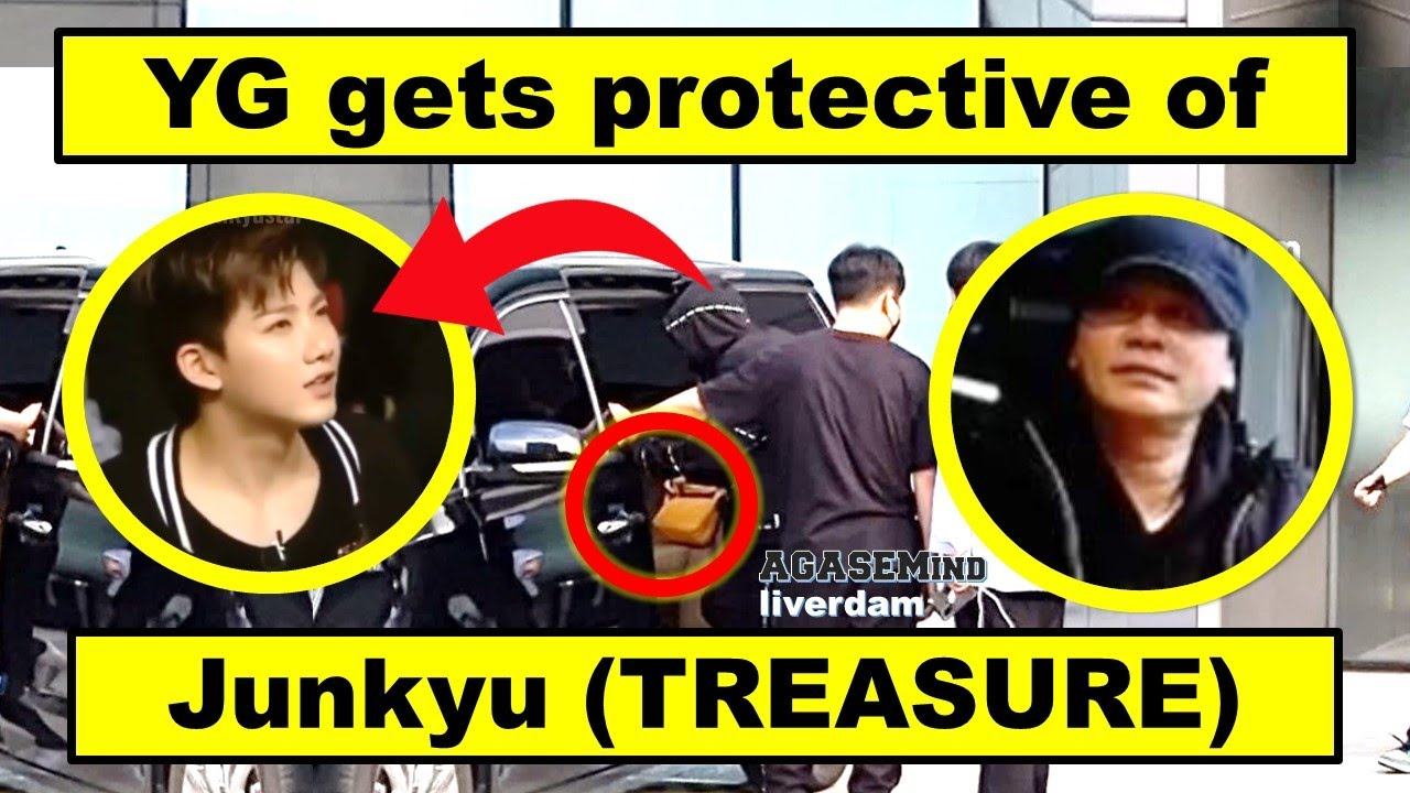 YG himself gets protective of JUNKYU (caught on camera) || Road to TREASURE (featuring YG Family)