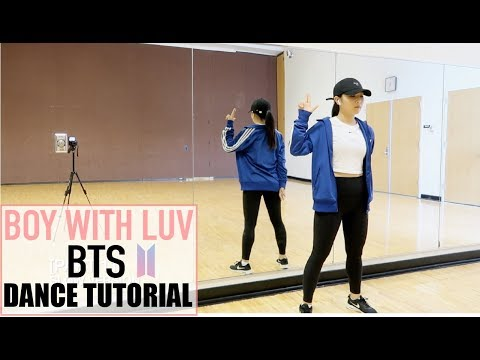 BTS (방탄소년단) '작은 것들을 위한 시 (Boy With Luv) Feat. Halsey' Lisa Rhee Dance Tutorial