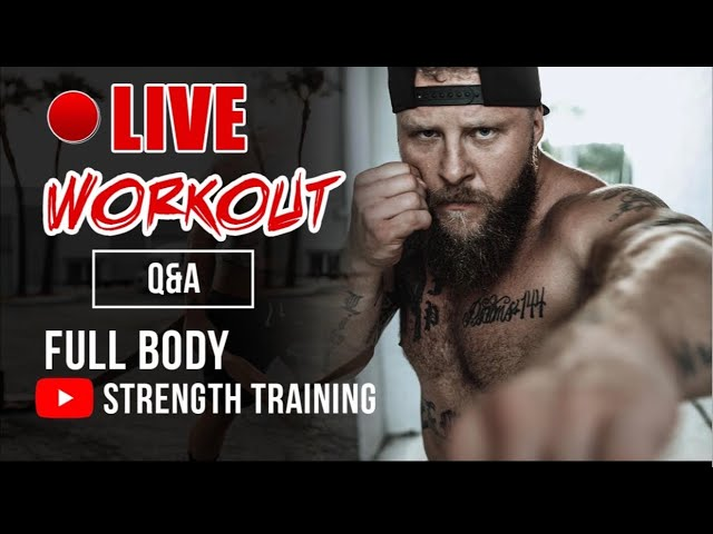 Live Full Body Workout + Q&A with Phil Daru
