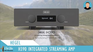 A film about the Hegel H390 Integrated Amplifier