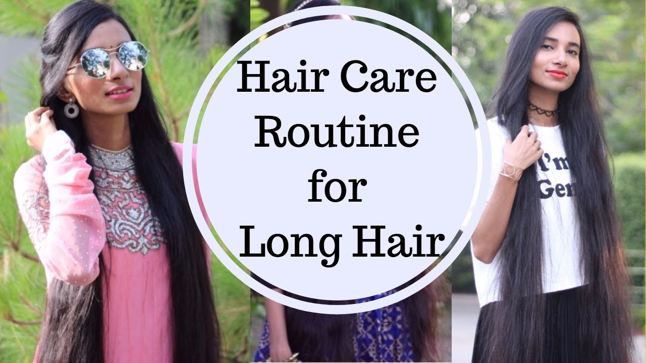 indian hair care routine long