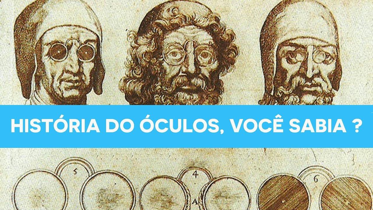 5cefa993dfa38 Breve História do Óculos - Você Sabia   - YouTube