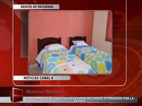 12 03 18 CANAL 6 MEDIA TV Desvío de Recursos UPFIM
