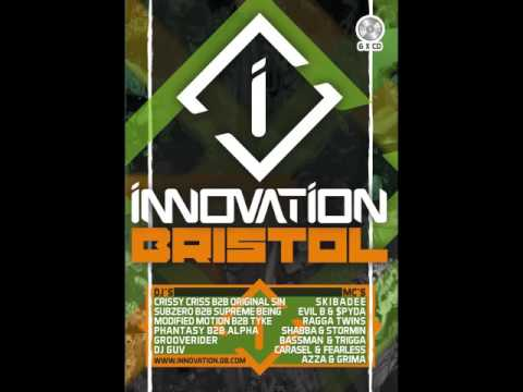 SUB ZERO B2B SUPREME BEING MCs SKIBADEE SPYDA EVIL B @ INNOVATION BRISTOL 2015