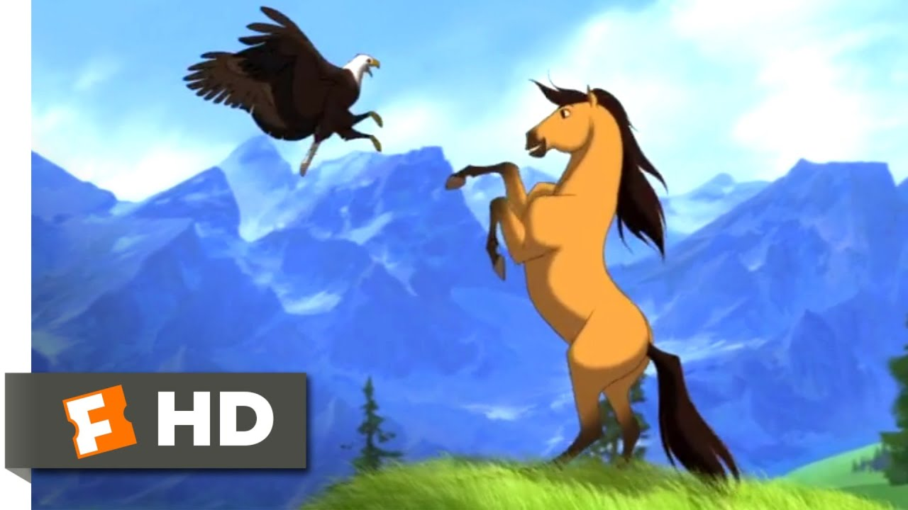 Spirit 2002 Spirit Grows Up Scene 1 10 Movieclips Youtube