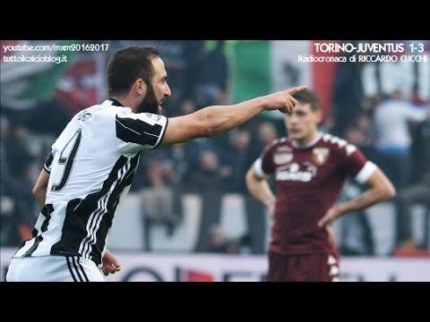 TORINO-JUVENTUS 1-3 - Radiocronaca di Riccardo Cucchi (11/12/2016) da Rai Radio 1