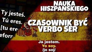 Czasownik być hiszpański el verbo ser