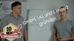 GmbH, UG oder Limited gründen?!
