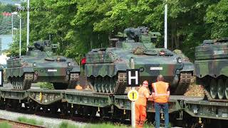 Militärzüge mit Ludmilla im Erzgebirge