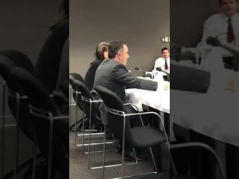 Senate Committee into Public Interest Journalism questions Google's Joseph Pellegrino