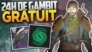 Destiny 2 -  24H DE TEST GRATUIT DU MODE GAMBIT AVANT RENÉGATS !