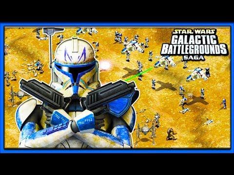 THE CLONE WARS! Star Wars Galactic Battlegrounds