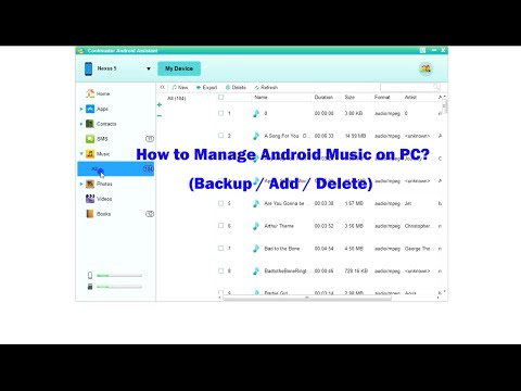 How to Transfer Music from Android Phone to Computer? Add & Delete Android Music on PC.