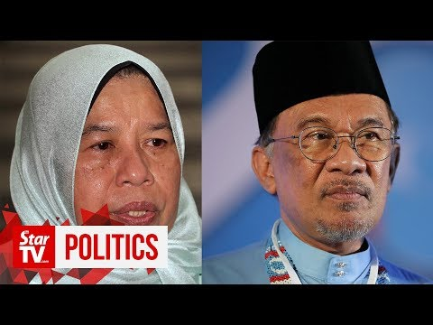 Zuraida: Give Anwar space before any talk of reconciliation