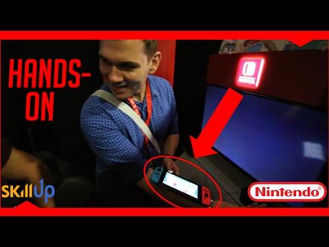 Hands on with Nintendo Switch (Zelda gameplay!) at RTX Sydney 2017 [VLOG]
