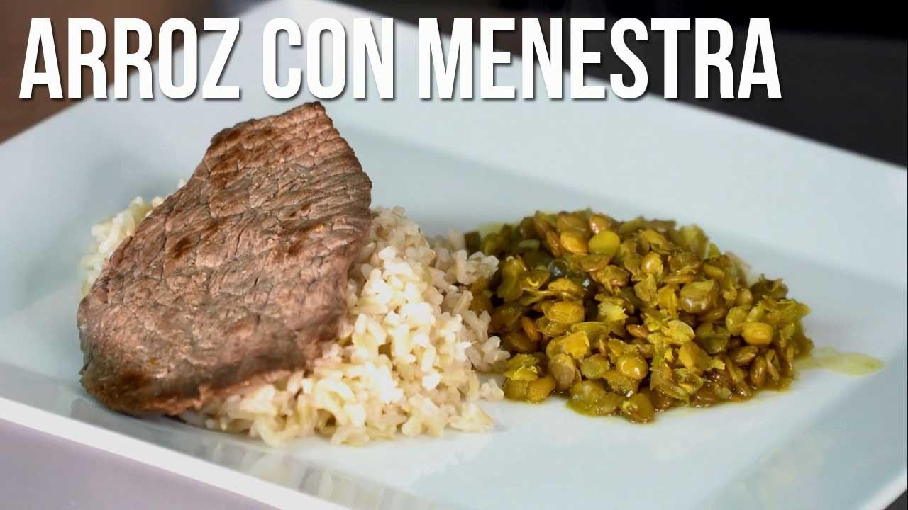 Recetas Saludables F Ciles Arroz Con Menestra Y Carne