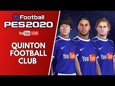 PES 2020 LIVE : Myclub pour le Quinton Football Club !