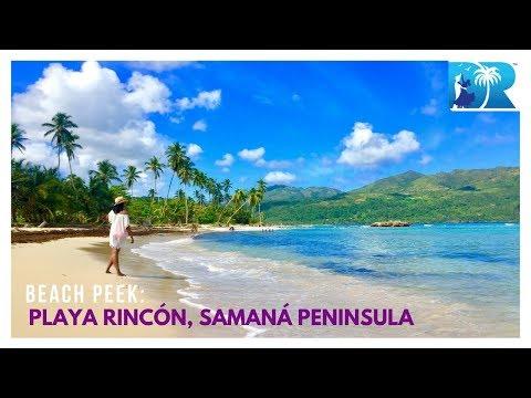 Beach Peek: Playa Rincón, Samaná  Peninsula — DRVisitor.com