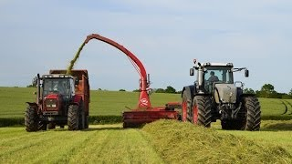 silage 2014 fendt 936 jf stoll 1460 trailed forager