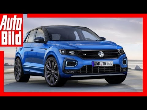 zukunftsaussicht vw t roc r 2018 die sportversion des t roc youtube. Black Bedroom Furniture Sets. Home Design Ideas