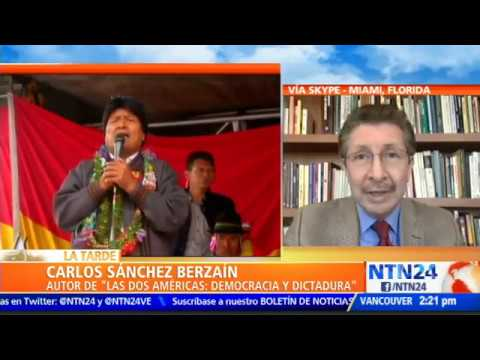 """""""La democracia está muerta en Bolivia desde hace rato"""""""
