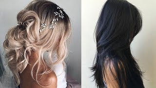 8 Easy Winter Hairstyle Ideas | Winter hairstyles |Part-7