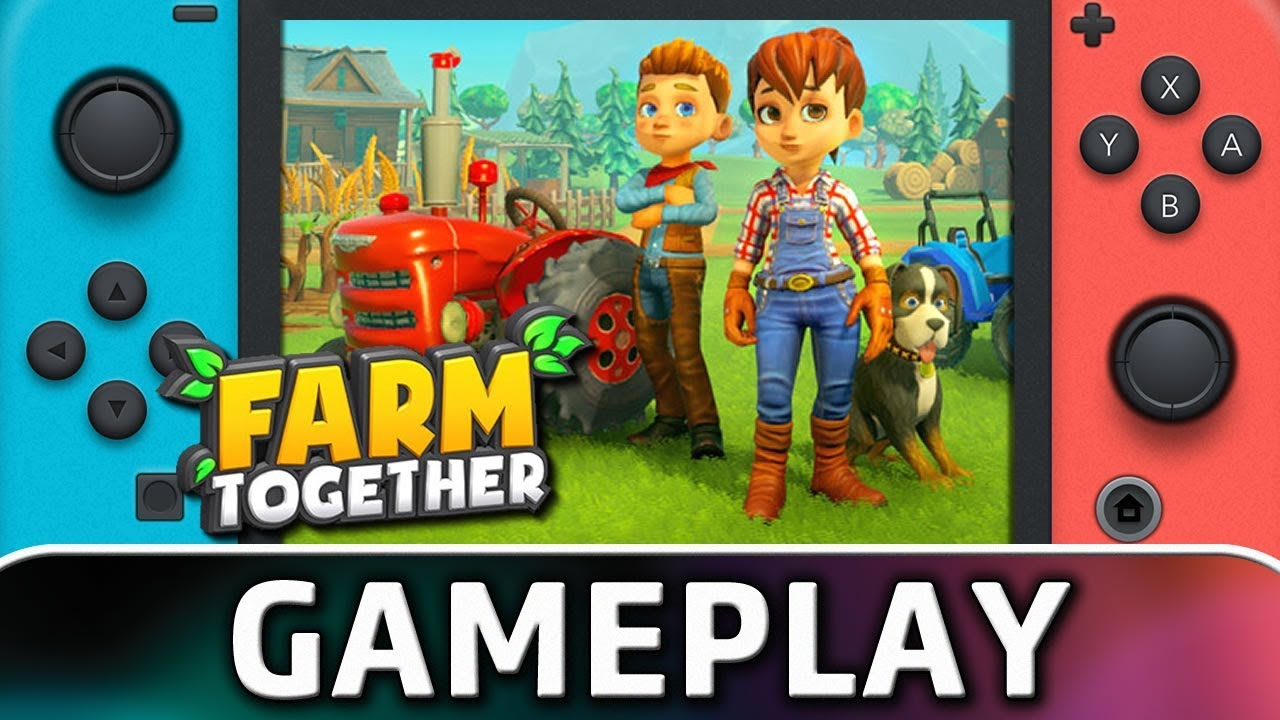 Farm Together | First 30 Minutes on Switch