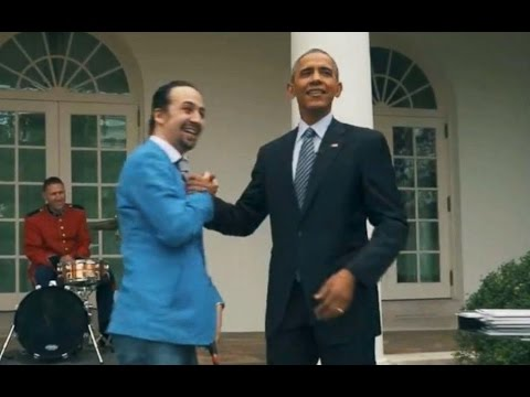 Obama Raps With 'Hamilton' Star Lin-Manuel Miranda