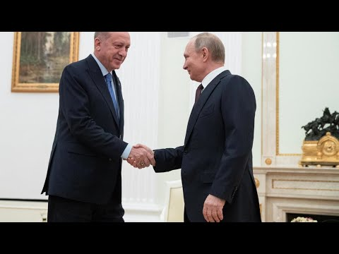 Vladimir Poutine et Recep Tayyip Erdogan annoncent un cessez