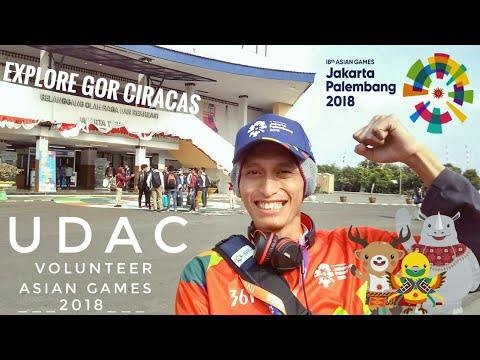 #VlogVolunteer Episode Ngambil Uniform Di UDAC GOR Ciracas | Asian Games 2018 🇮🇩