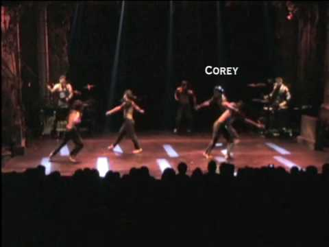Corey Harris Dance Reel