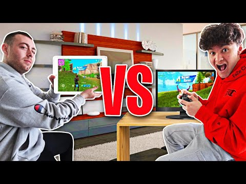 FaZe Jarvis Vs Best Mobile Player (Fortnite 1v1)