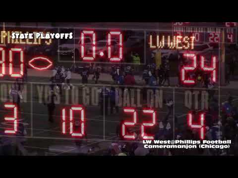 * * * Lincoln Way West Warriors@Phillips Wildcats Football5 [Post Game] Gately Stadium/Cameramanjon