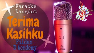 Karaoke dangdut Terima Kasihku - Fildan D Academy