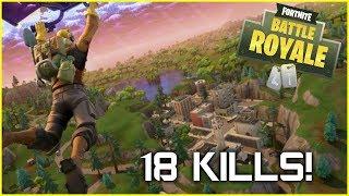 REAL VITTORY - 18 Kills - Single Player (Fortnite Battle Royale)