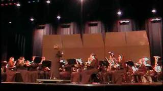 "Wellington High School - Wind Ensemble performing Symphonic Dance No3 ""Fiesta"" by Clifton Williams"