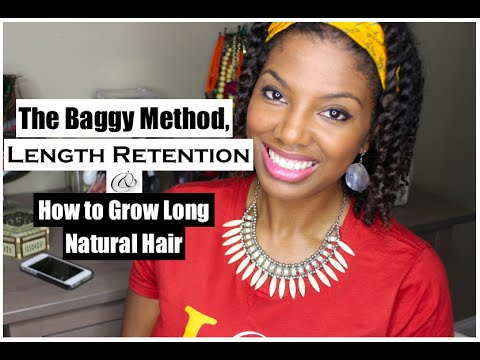 Natural hair growth retention