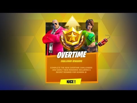 Fortnite Overtime Rewards