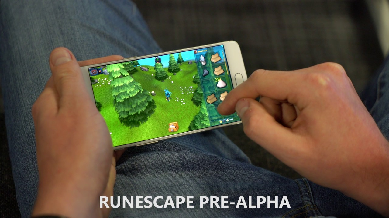 RuneScape Mobile - Pre-Alpha Gameplay Teaser