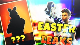 *NEW* LEAKED EASTER BUNNY SKIN + EASTER EGG LAUNCHER! FORTNITE BATTLE ROYALE EASTER UPDATE