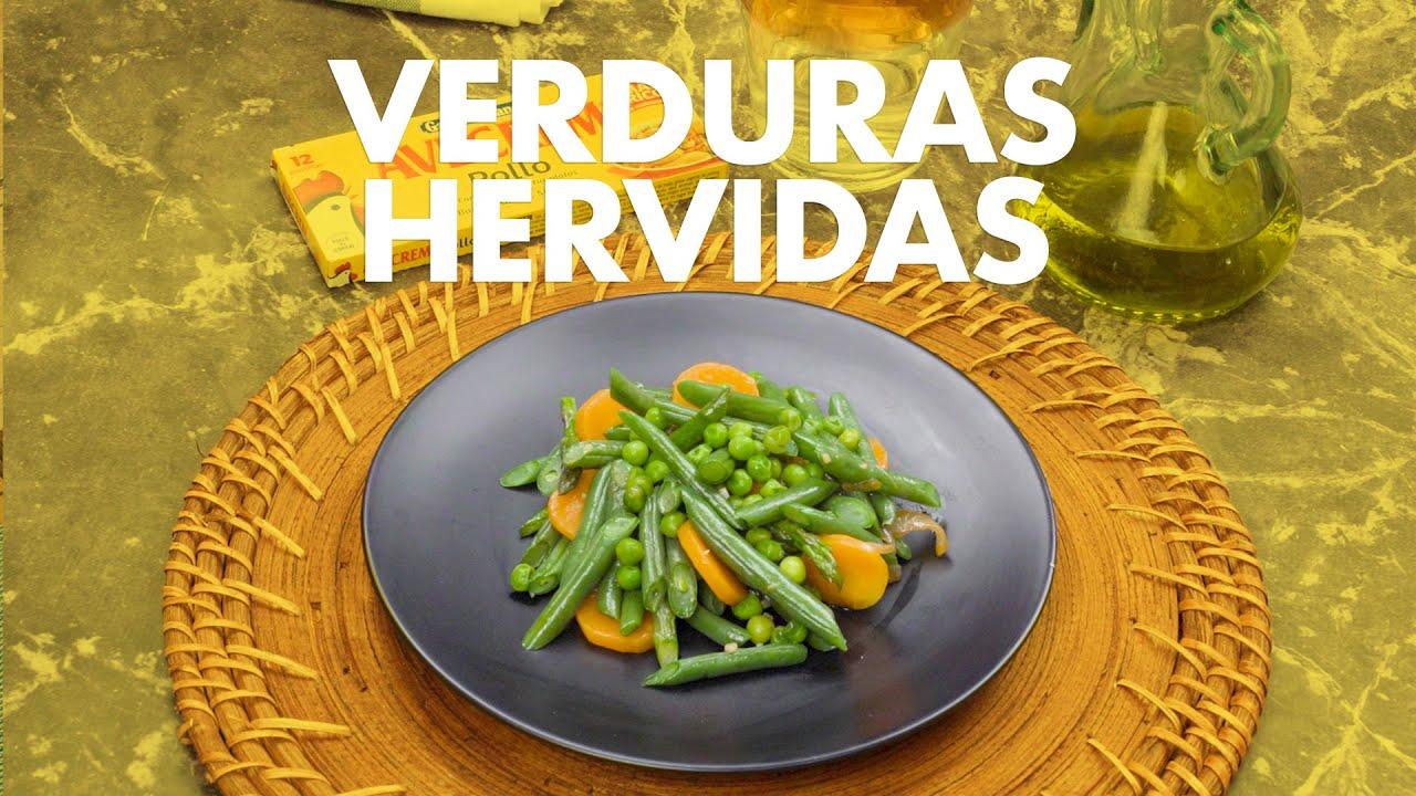 verduras hervidas para adelgazar