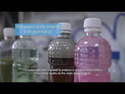 Antifreeze recycling using electrodialysis