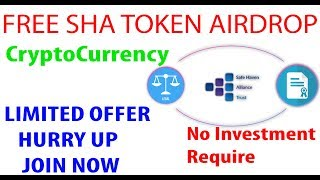 Free SHA Crypto Token | SHA | GetTokens Now - Worth 34$ - Upcoming Crypto Currency