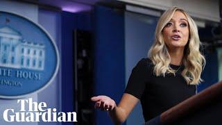 Kayleigh McEnany praises Trump's Covid-19 response as US deaths approach 100,000