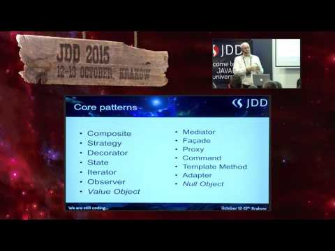 JDD2015 - Twenty-one Years of Design Patterns (Ralph Johnson)