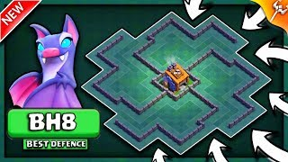 STRONGEST BUILDER HALL LEVEL 8 BASE LAYOUT | BH8 LABRYINTH STYLE✔✔ BASE IN COC | CLASH OF CLANS