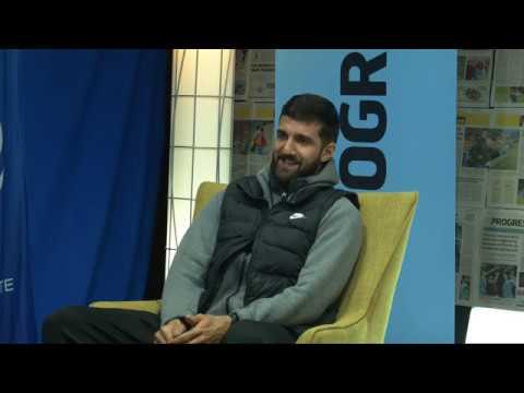 """Cvetkovic ✊ """"El partido clave es Tenerife, si ganamos creo que nos salvaremos"""" (2/5)"""